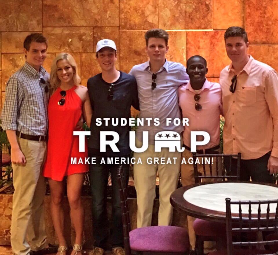 Студенты за трампа фото